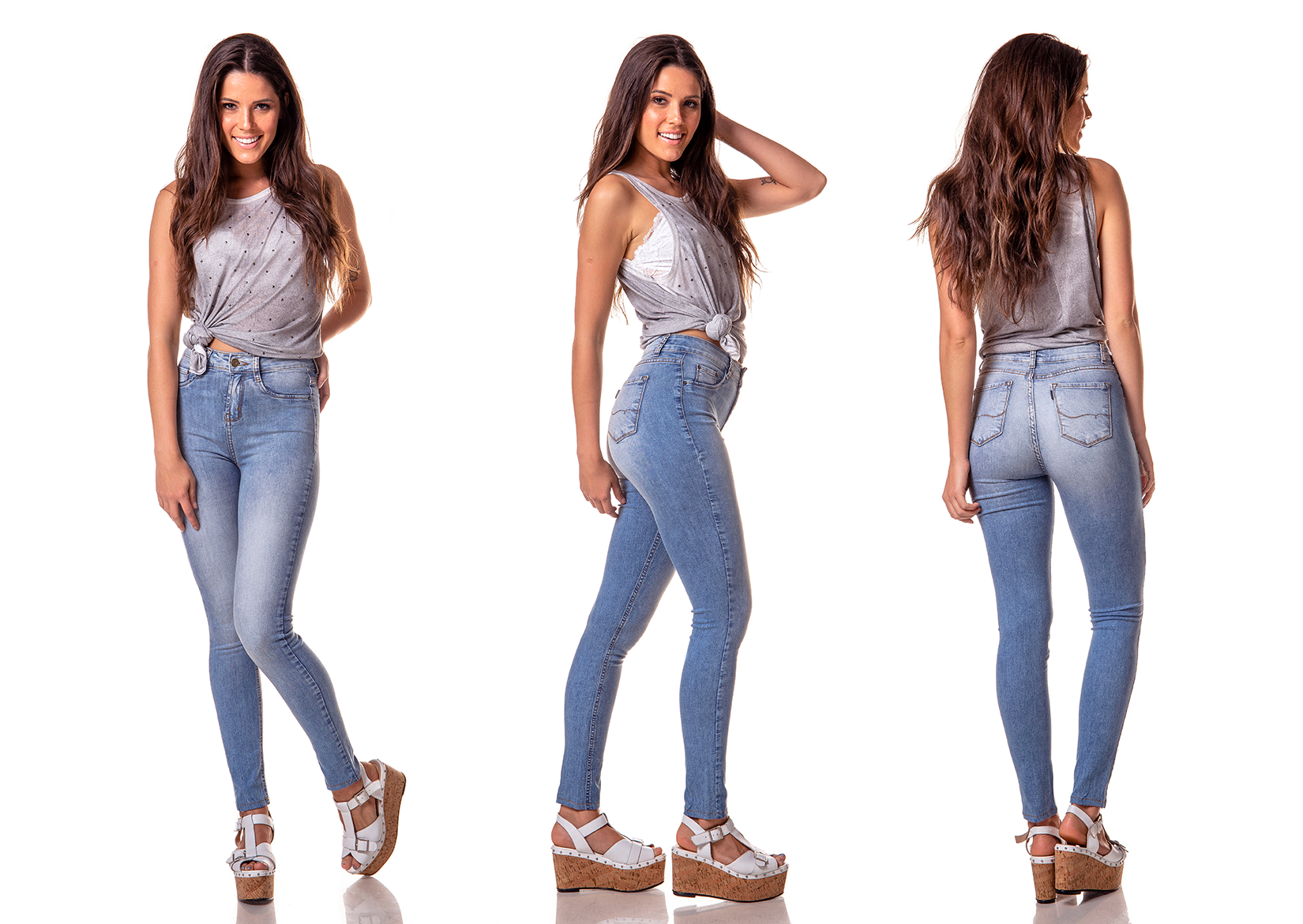 dz2611 11 calca skinny media estonada clara denim zero tripla