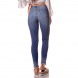 dz2717 calca skinny media estonada denim zero costas cortada