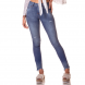 dz2717 calca skinny media estonada denim zero frente cortada