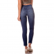 dz2721 calca skinny media fenda frontal denim zero costas cortada