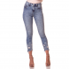 dz2726 calca skinny cropped media barra destroyed denim zero frente cortada