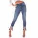 dz2714 calca skinny cigarrete media respingos denim zero frente cortada