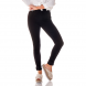 dz2693 11 preto calca skinny media black and white denim zero frente cortada