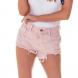 dz6244 roset shorts young bigodes marmorizado denim zero frente cortada
