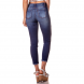 dz2740 calca skinny cropped media rasgos e marcalcao na lateral denim zero costas cortada