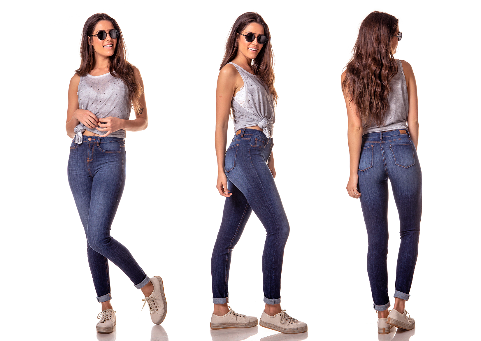 dz2751 11 calca skinny media estonada denim zero tripla