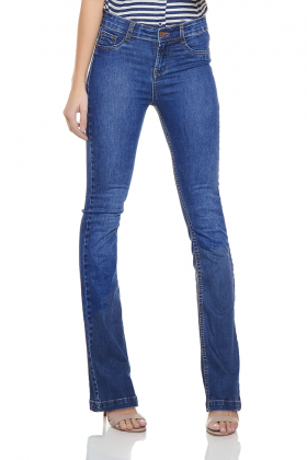 dz2442 11 calca boot cut media zoom frente