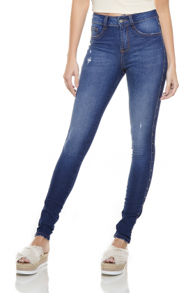 dz2765 calca skinny media zoom frente denim zero