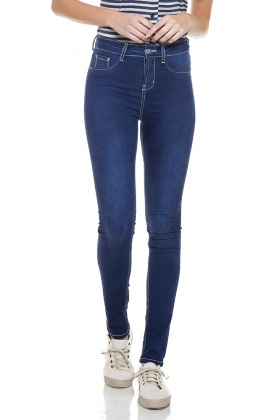 dz2764 calca skinny media zoom frente denim zero