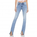 dz2760 calca boot cut media zoom frente denim zero