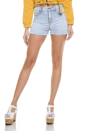 dz6247 shorts pin up frente proximo denim zero