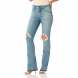calca boot cut media jeans claro dz2482 denim zero frente cortada