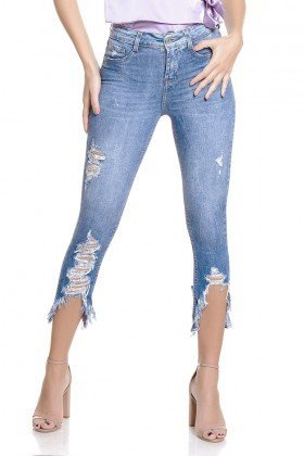dz2784 calca skinny cropped media zoom frente