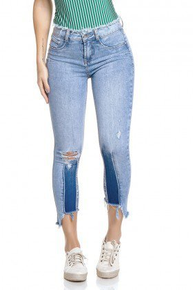 dz2785 calca skinny cropped media zoom frente