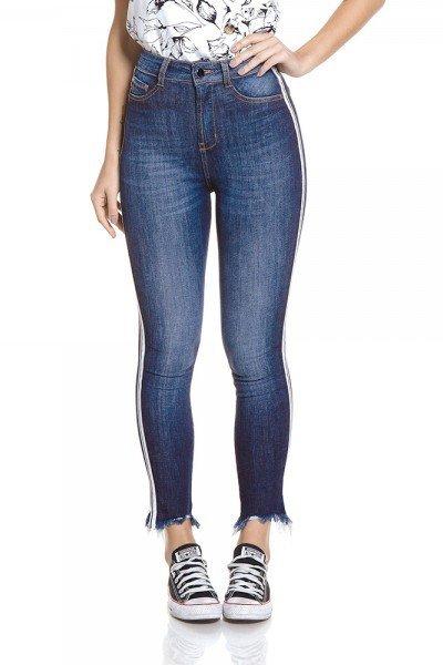 dz2788 calca skinny cropped hot pants zoom frente