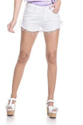 dz6266 shorts young branco zoom frente