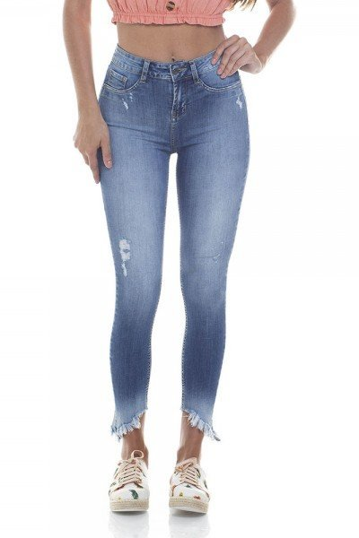 dz2796 calca skinny media cigarrete zoom frente
