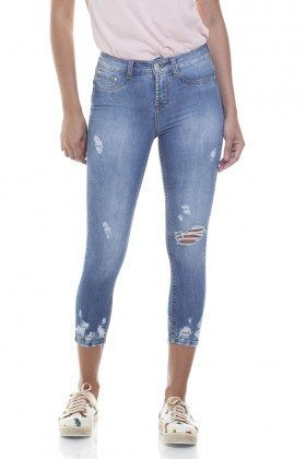 dz2800 calca skinny cropped media zoom frente