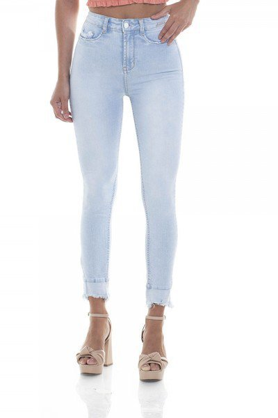 dz2804 calca skinny hot pants cigarrete zoom frente