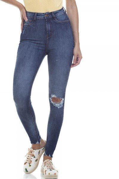 dz2831 calca skinny hot pants cigarrete zoom frente
