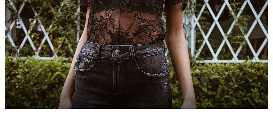 Como usar black jeans como uma fashion girl