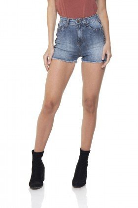 dz6285 shorts jeans pin up listra lateral denim zero frente prox