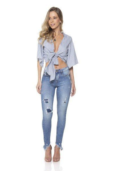 2f14b6bc6c dz2837 calca jeans skinny media com patch aplique denim zero frente