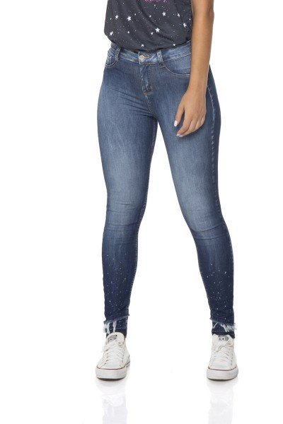 dz2847 calca jeans skinny media cigarrete denim zero frente 02 prox