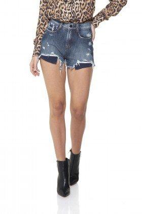 dz6286 shorts jeans setentinha forro aparente denim zero frente prox