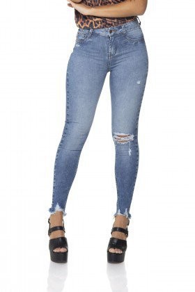 dz2860 calca jeans skinny cigarrete media denim zero frente prox