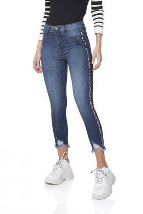 dz2862 calca jeans skinny cropped media denim zero frente prox
