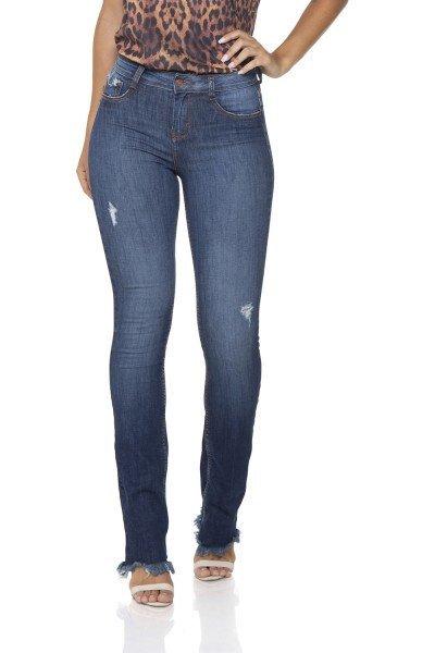 07f3d2a3a dz2863 calca jeans boot cut media estonada denim zero frente 02 prox