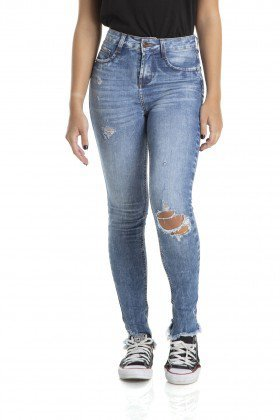 dz2877 calca skinny cigarrete media rasgo denim zero frente crop