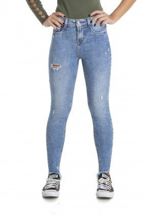 dz2880 calca skinny cigarrete media barra mullet denim zero frente crop
