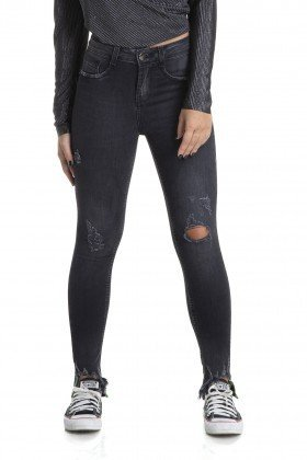 dz2881 calca skinny cigarrete media black neon denim zero frente crop
