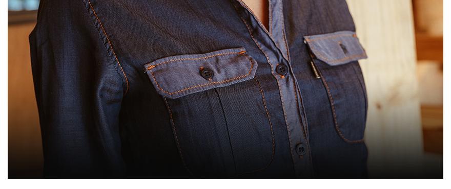 capa camisa jeans do trabalho ao happy hour