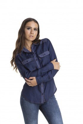 dz11138 camisa ajustada duo denim zero frente crop 02