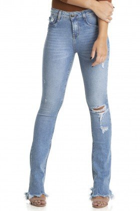dz2887 calca boot cut media rasgo denim zero frente crop
