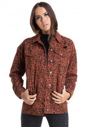 dz9088 jaqueta oversize onca denim zero frente crop