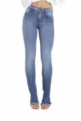 dz2915 calca new boot cut media recorte denim zero frente crop
