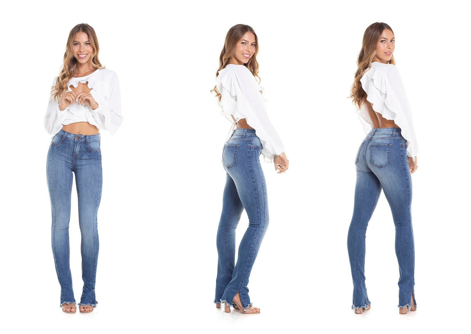dz2915 calca new boot cut media recorte denim zero trio descricao