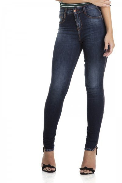 dz2876 calca skinny cigarrete media escura denim zero frente crop