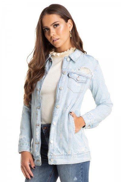 dz9090 jaqueta oversize puidos clara denim zero frente crop