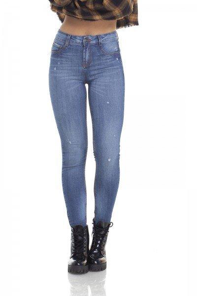 dz2929 calca jeans skinny media com bigodes frente crop denim zero