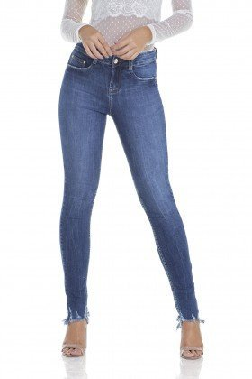 dz2932 calca jeans skinny media barra destroyed frente prox denim zero