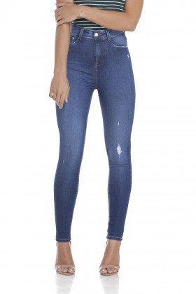 dz2952 calca jeans skinny cintura alta frente crop denim zero