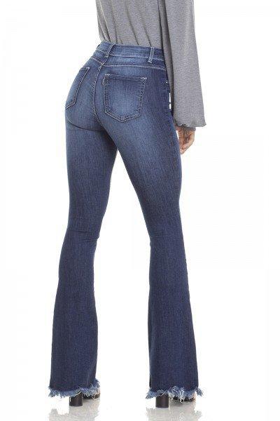 28e903b77 ... dz2949 calca jeans flare media com bigodes costas prox denim zero ...