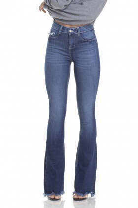 dz2949 calca jeans flare media com bigodes frente prox denim zero