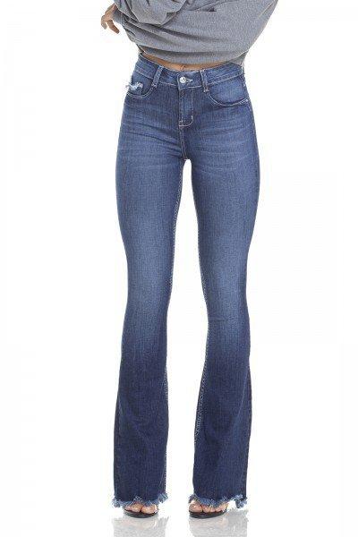 dz2949 calca jeans flare media com bigodes frente prox denim zero