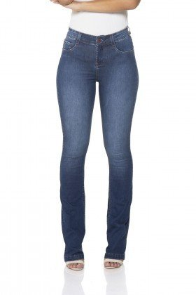 dz2442 12 calca jeans boot cut media classica denim zero frente 02 prox